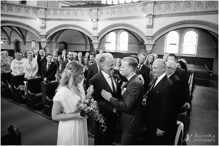 Einzug Braut Hauptkirche Rheydt