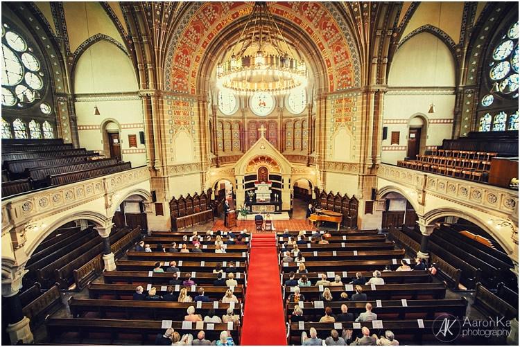 Innenaufnahme evangelische hauptkirche rheydt