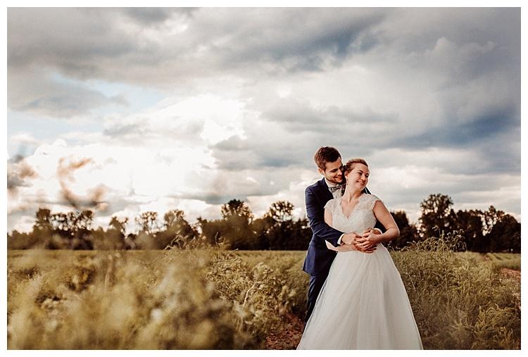 Boho Hochzeit Stil  brautpaar