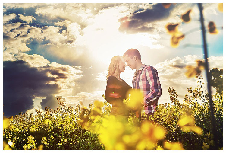 Outdoor Shooting zum Valentinstag