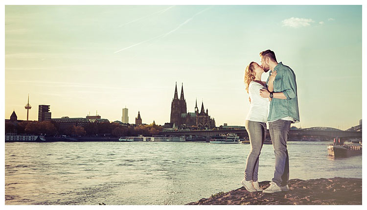 Outdoor Paarshooting Valentinstag Köln