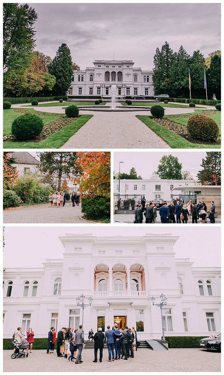 Hochzeit Villa Hammerschmidt Bonn