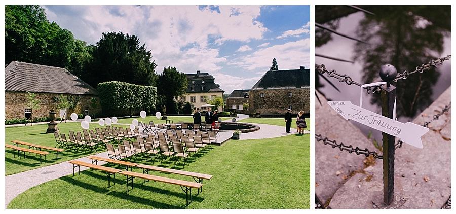 Trauung auf Schloss Ehreshoven
