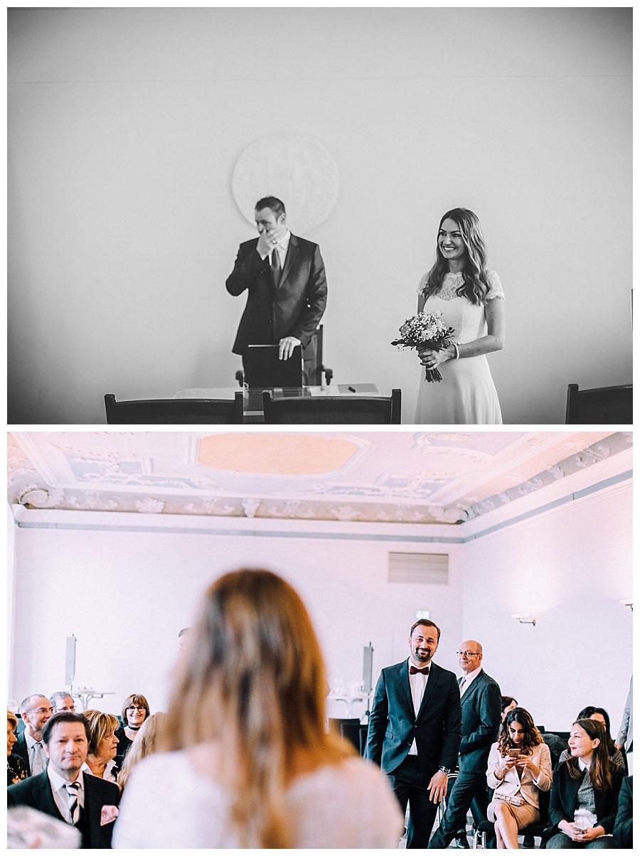 Standesamtliche Hochzeit im Rathaus in Brühl