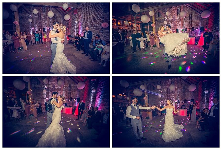 brautpaar tanz - erster tanz scheunen hochzeit