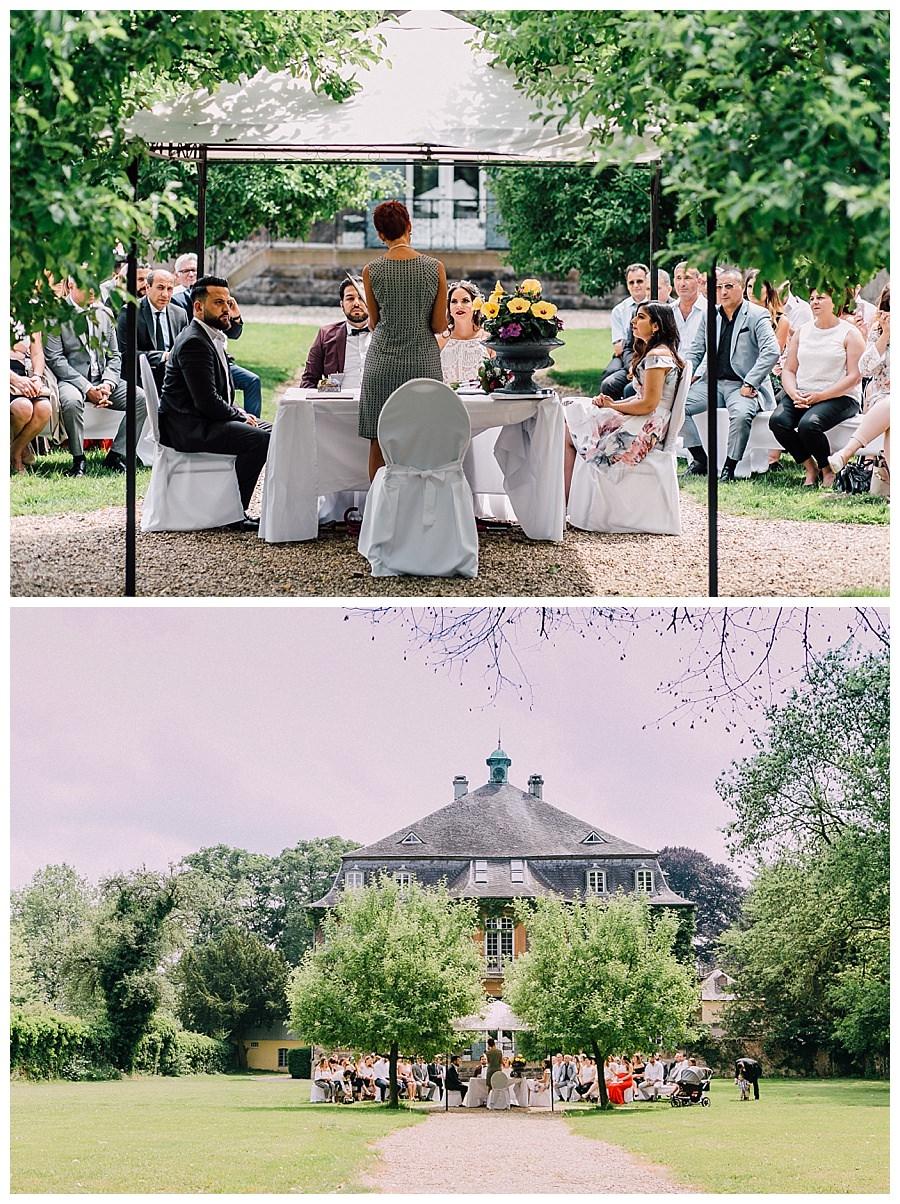 Standesamtliche Trauung  Schloss Eicherhof