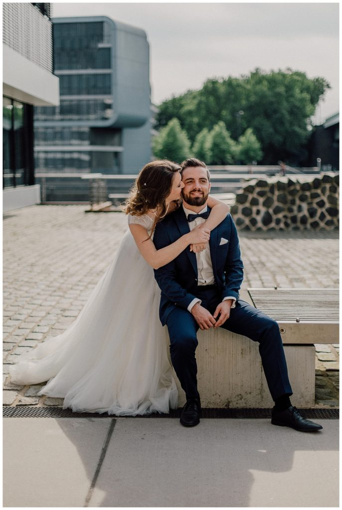 Sibylle & Dominik heiraten in der Bel Etage